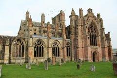 Abadía escocesa Fotografía de archivo