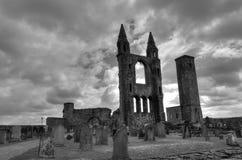 Abadía escocesa Fotografía de archivo libre de regalías