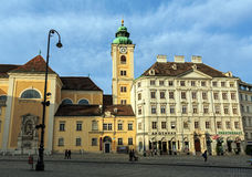 Abadía escocesa Viena, Austria Foto de archivo libre de regalías
