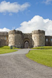 Abadía famosa de Glenstal cerca de la quintilla, Irlanda. Fotografía de archivo