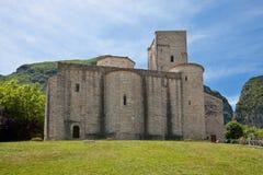 Abadía fortificada Fotografía de archivo