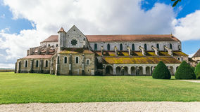 Abadía francesa antigua Foto de archivo