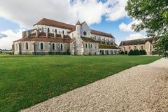 Abadía francesa antigua Imágenes de archivo libres de regalías