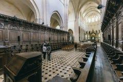 Abadía francesa medieval Imágenes de archivo libres de regalías