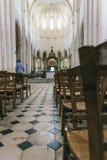 Abadía francesa medieval Imagen de archivo libre de regalías