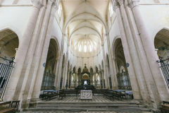 Abadía francesa medieval Fotos de archivo