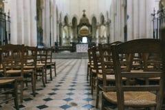 Abadía francesa medieval Foto de archivo