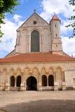 Abadía Francia de Pontigny Fotografía de archivo libre de regalías
