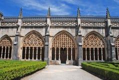 abadía gótica de Batalha (Portugal) Foto de archivo libre de regalías