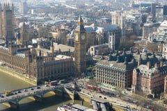 Abadía grande de BenBig Ben y de Westminster en Londres, Inglaterra Foto de archivo libre de regalías