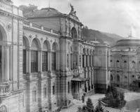 Abadía histórica de Einsiedeln Fotos de archivo libres de regalías