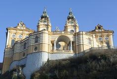 Abadía histórica de Melk Foto de archivo
