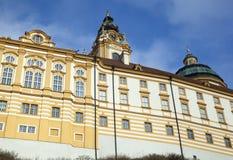 Abadía histórica de Melk Fotos de archivo libres de regalías