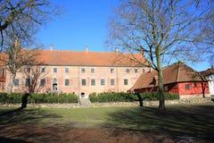 Abadía histórica de Odense en la isla de Fionia, Dinamarca Fotos de archivo libres de regalías