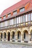 Abadía histórica en Halberstadt Fotos de archivo libres de regalías