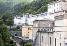 Abadía hundida de Tirreni de Imagen de archivo libre de regalías
