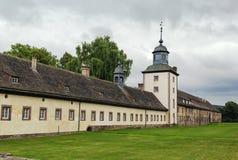 Abadía imperial de Corvey, Alemania Fotografía de archivo libre de regalías