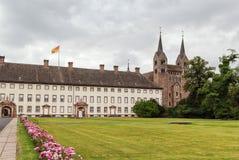 Abadía imperial de Corvey, Alemania Foto de archivo libre de regalías
