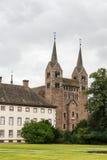 Abadía imperial de Corvey, Alemania Foto de archivo