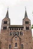 Abadía imperial de Corvey, Alemania Imagenes de archivo