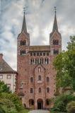 Abadía imperial de Corvey, Alemania Fotografía de archivo