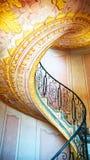 Abadía imperial de Melk de las escaleras, Austria Fotos de archivo libres de regalías