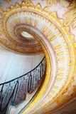 Abadía imperial de Melk de las escaleras, Austria Imagenes de archivo