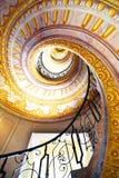 Abadía imperial de Melk de las escaleras, Austria Imagen de archivo libre de regalías
