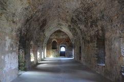 Abadía interior Fotos de archivo