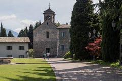 Abadía Italia de Piona Fotografía de archivo libre de regalías