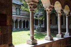 Abadía Italia de Piona Foto de archivo