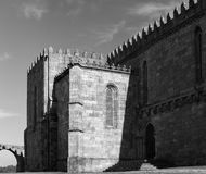 Abadía medieval de Santa Clara Imagen de archivo