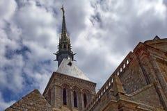 Abadía medieval en Francia Imagen de archivo