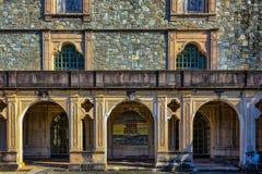 Abadía medieval vieja Foto de archivo libre de regalías