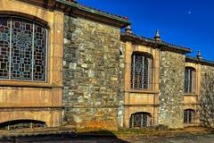 Abadía medieval vieja Imagen de archivo libre de regalías