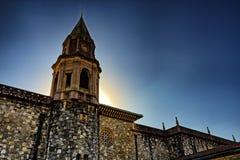 Abadía medieval vieja Imágenes de archivo libres de regalías