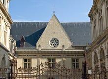 Abadía medieval vieja en Dijon. Imagenes de archivo