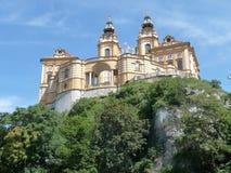 Abadía Melk, Austria Imágenes de archivo libres de regalías