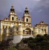 Abadía Melk, Austria Imagen de archivo libre de regalías