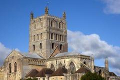 Abadía pintoresca de Gloucestershire - de Tewkesbury Foto de archivo