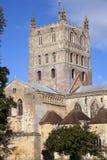 Abadía pintoresca de Gloucestershire - de Tewkesbury Imagen de archivo libre de regalías