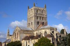 Abadía pintoresca de Gloucestershire - de Tewkesbury Fotografía de archivo libre de regalías