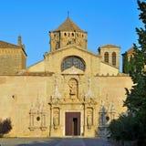 Abadía real de Santa María de Poblet Imagen de archivo