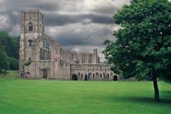 Abadía Reino Unido de las fuentes Fotografía de archivo