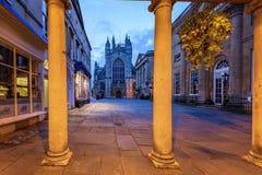 Abadía Reino Unido del baño Imagenes de archivo