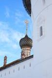 Abadía rusa vieja Imagen de archivo libre de regalías