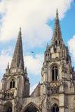 abadía Santo-Jean-DES-Vignes en Soissons Foto de archivo libre de regalías
