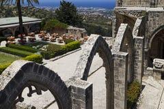 Abadía septentrional de Chipre Bellapais Imagenes de archivo