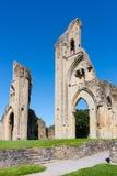 Abadía Somerset de Glastonbury Fotos de archivo libres de regalías
