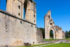 Abadía Somerset de Glastonbury Imagen de archivo libre de regalías